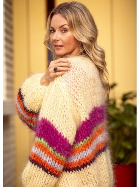LES TRICOTS D'O CARDIGAN YELLOW